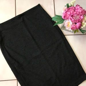 Vince Camuto charcoal grey pencil skirt